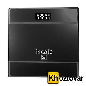 Весы напольные с датчиком температуры Iscale S до 180 кг