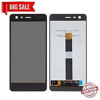 Модуль (дисплей + сенсор) Nokia 2 TA-1029 черный