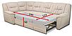 Угловой диван Бруклин А-31 Вика (раскладной), фото 3