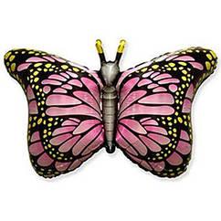 Фольгована фігура Метелик 56х97 см