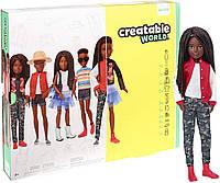 Набор из серии Создаваемый мир кукла с черными плетеными волосами Оригинал (GGG55) (887961778359), фото 1