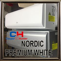 Кондиционер COOPER&HUNTER CH-S12FTXN-PW до 40 кв.м. инверторный до -28С серия Nordic PREMIUM белый матовый
