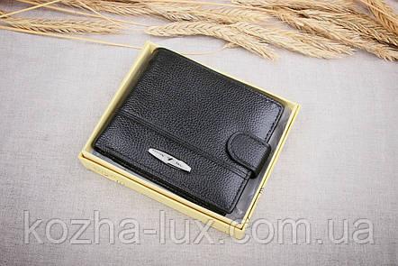 Кожаное мужское портмоне Tailian черный 197-12, фото 2