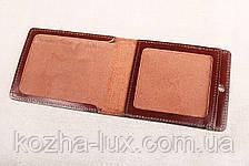 Кожаная обложка СБУ шоколадный 017-003, фото 3