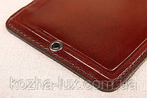 Шкіряна обкладинка Дозвіл на зброю шоколадний 018-003, фото 3