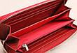 Женский кожаный кошелек Kochi темно-красный 9026-R, фото 2