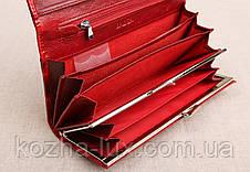 Жіночий шкіряний гаманець Balisa бордовий 82611R, фото 2