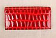 Жіночий шкіряний гаманець Balisa бордовий 82611R, фото 5