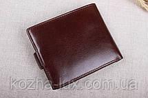 Мужское кожаное портмоне Braun Buffel бордовый 003-617, фото 3