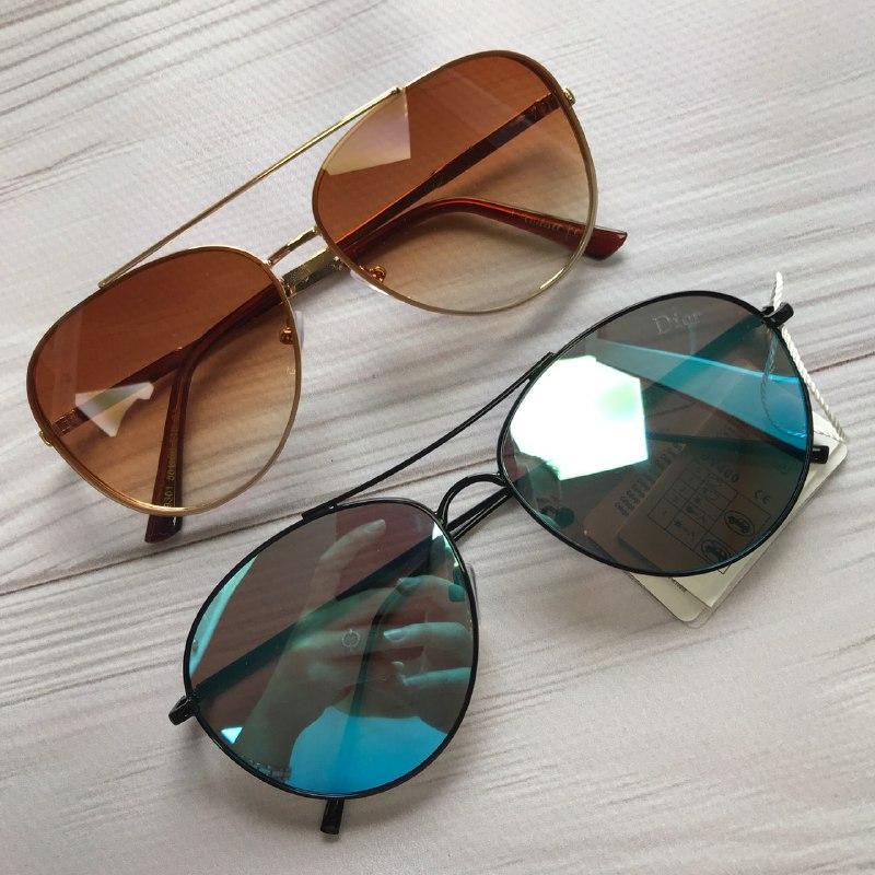 Жіночі сонцезахисні окуляри авіатори