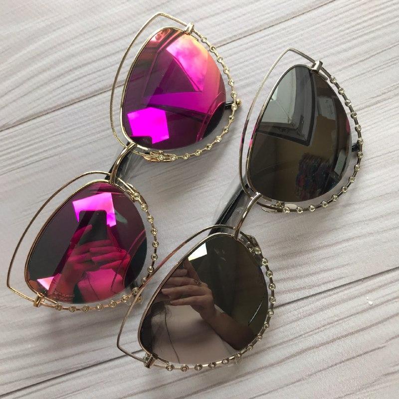Женские солнцезащитные очки с красивой оправой