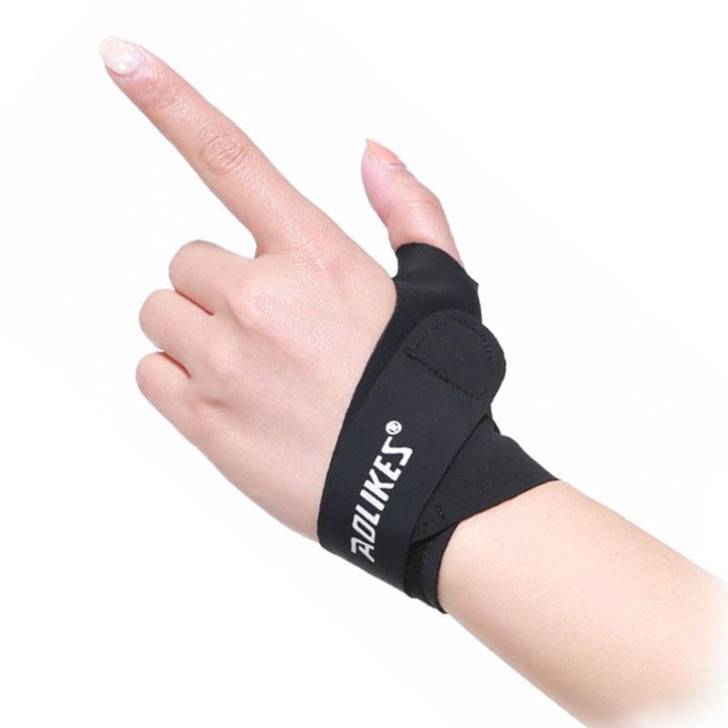 Бандаж на большой палец руки AOLIKES HS-1673 Left M Черный левый