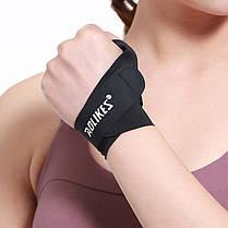 Бандаж на большой палец руки AOLIKES HS-1673 Left M Черный левый, фото 3