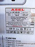 Электрическая печь (духовка) ASEL AF-4023  40л  оригинал Турция., фото 10