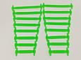 Еластичні гумові шнурки для взуття 16 шт, фото 9