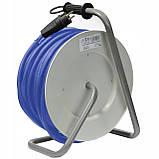 Удлинитель электрический на катушке 4 гнезда 40 м кабель КГНВ 3х1.5 мм², фото 3