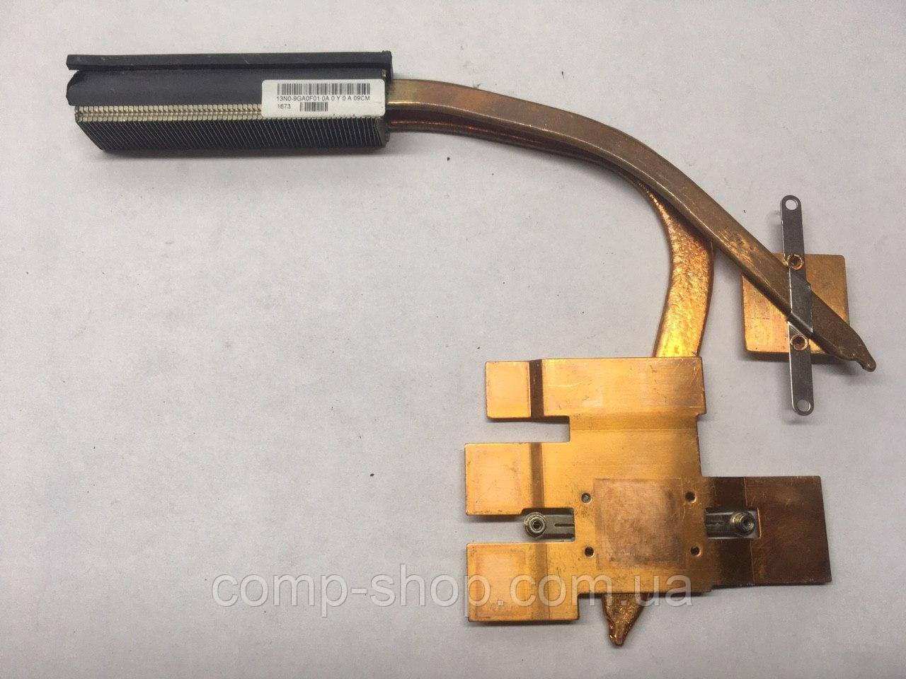 """БУ Asus ROG G72G 17.3 """"Оригинальный радиатор охлаждения ноутбука 13N0-9GA0F01 ER (Оригинал)"""