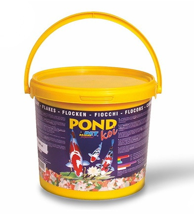 Корм Dajana POND KOI хлопья для прудовых рыб, (ведро 10 л/1,5 кг)