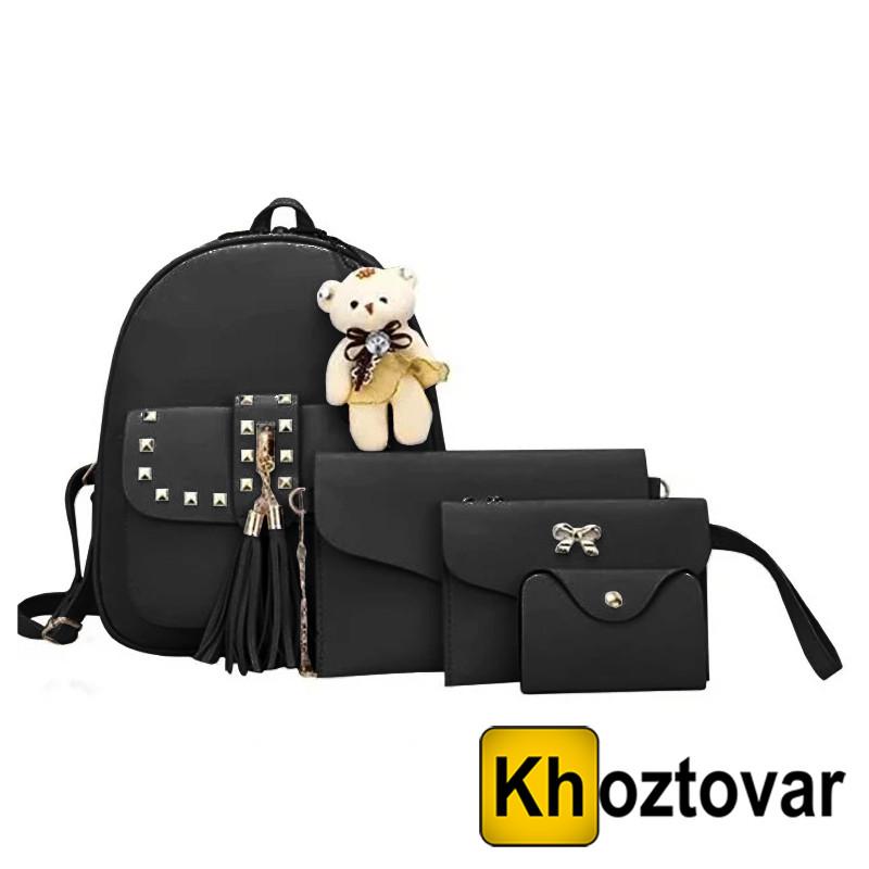 Женская сумка 4 в 1 Teddy Backpack Bag
