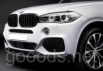 Карбоновая юбка M Performance переднего бампера BMW X5 F15
