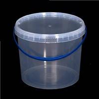 Ведро пластиковое пищевое, для меда 10 л. Упаковка(40 шт.)