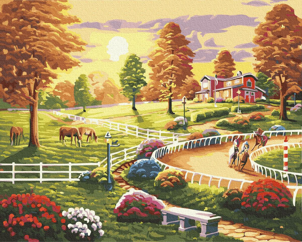 Картина по номерам Веселое лето GX34572 Rainbow Art 40 х 50 см (без коробки)
