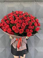 Букет 101 роза, букеты из роз