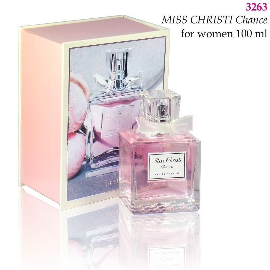 3263 MISS CHRISTI Chance Christian for women 100 ml
