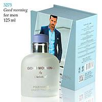 3273 GOOD MORNING Christian for men 125 ml NEW