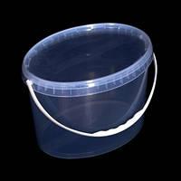 Ведро пластиковое пищевое, для меда 11 л. Роздріб