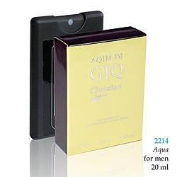 2214 AQUA Christian for men 20 ml