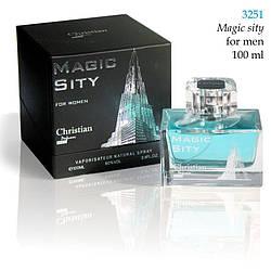 3251 MAGIC SITY Christian for men 100 ml