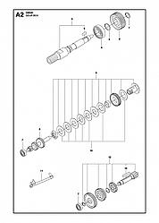 2 КОРОБКА ПЕРЕДАЧ   DM340, 2012 бурильная машина Хускварна   алмазное бурение  