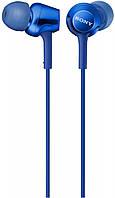 Гарнитура Sony MDR-EX255AP Blue КОД: MDREX255APL.E