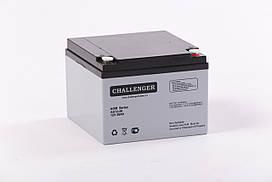 Аккумуляторная батарея AGM Challenger AS12-26 Ah 12V