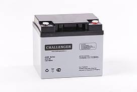 Аккумуляторная батарея AGM Challenger A12-40 Ah 12V
