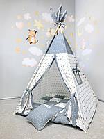 Вигвам домик детская игровая палатка «Звездное небо»