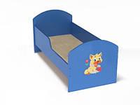 Кровать детская ясельная с бортиками. W53