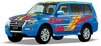 Автомодель Технопарк Mitsubishi Pajero Sport Синий SB-17-61-MP-S-WB, фото 1