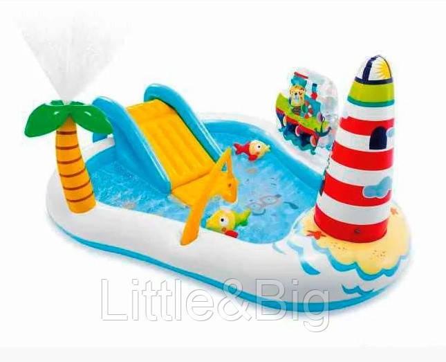 Надувной игровой центр - бассейн «Веселая рыбалка» INTEX 57162