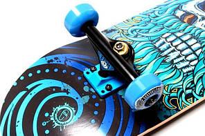 Скейтборд классический-трюковой FISH канадский клен 79 см скейт Нептун, фото 2