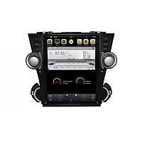 Штатное головное устройство для Toyota Highlander Gazer CM7012-XU40