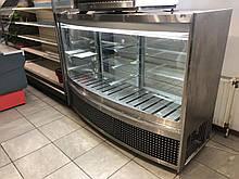 """Кондитерская холодильная витрина """"Аквариум"""" прилавок-витрина в линию в подарок!"""