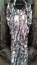 """Костюм зимний (бушлат пилот) """"Зимние листья"""", ткань гладкая алова. рр 50"""