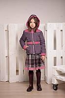 Демисезонная куртка для девочки К-96, фото 1