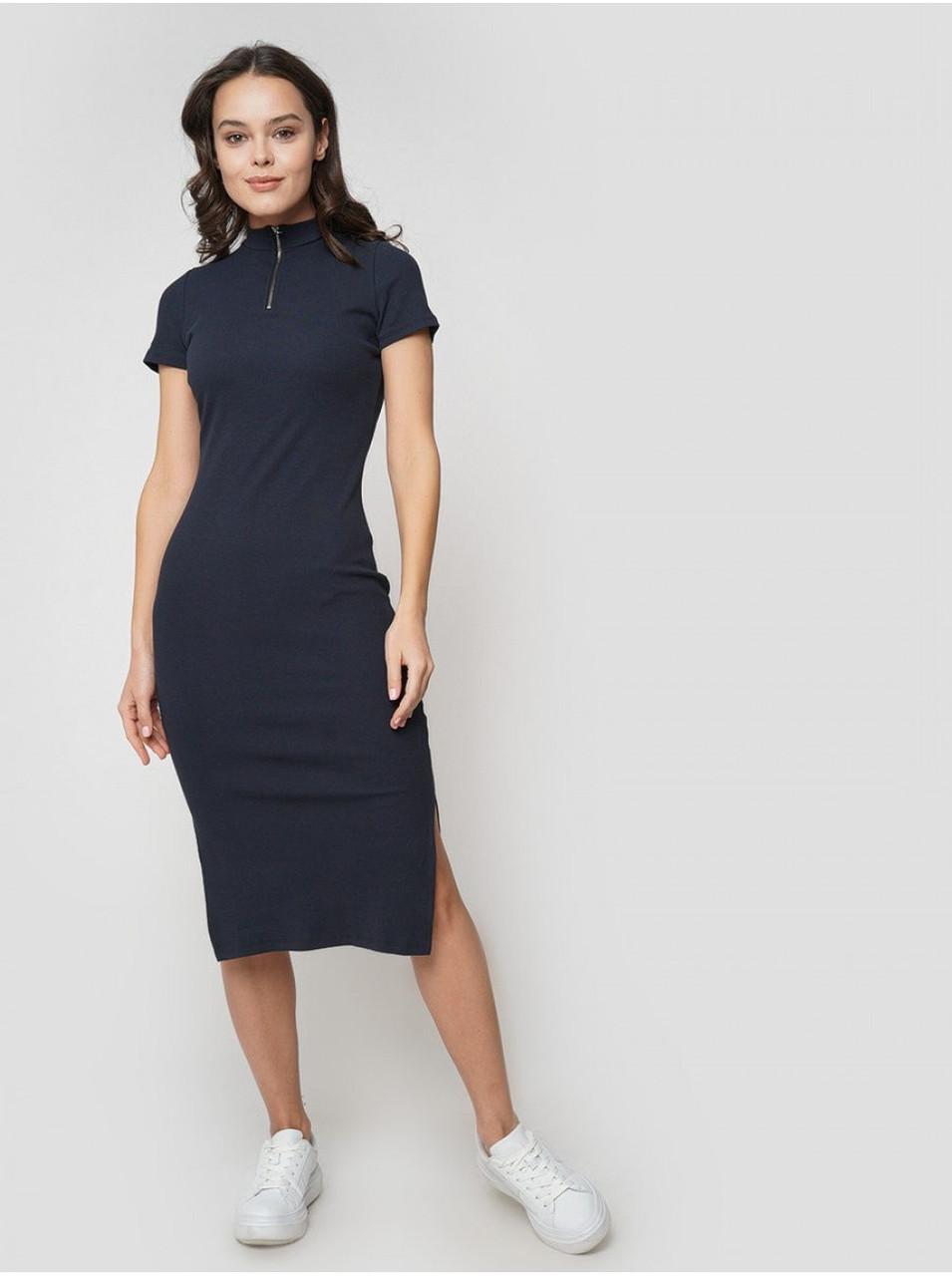 Платье твое темно-синее