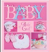 Фотоальбом EVG 20sheet Baby collage Pink w/box   КОД: 20sheet Baby collage Pink w/box