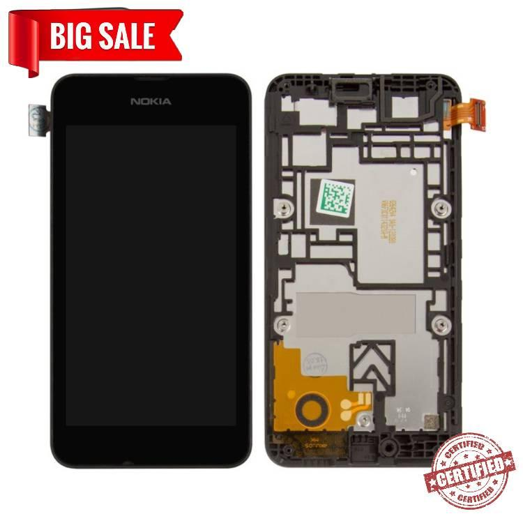 Модуль (сенсор + дисплей) для Nokia 530 Lumia + FRAME чорний