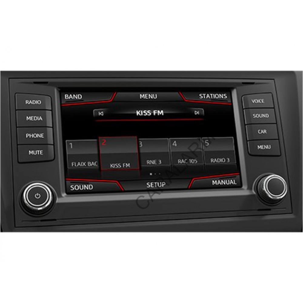 Мультимедийный видео интерфейс Gazer VI700A-MIB2/SD (Seat/Skoda/VW)