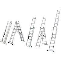 Лестница универсальная 3x9 FLORA 5032334